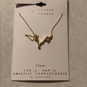 "Lauren Conrad Pisces 16"" Necklace"
